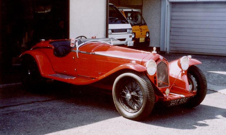 Alfa 8C2300 Zagato # 2111034