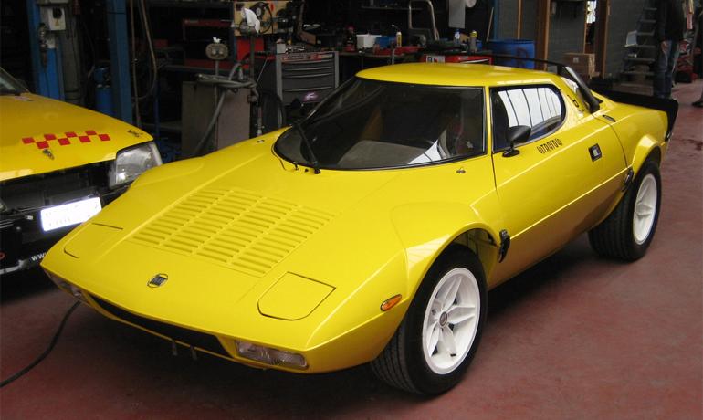 Lancia Stratos #1879, 1976.