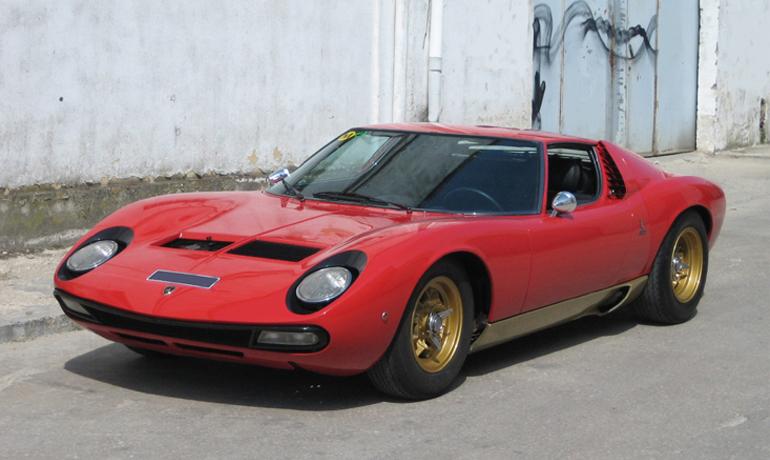 Lamborghini Miura SV, #4946.