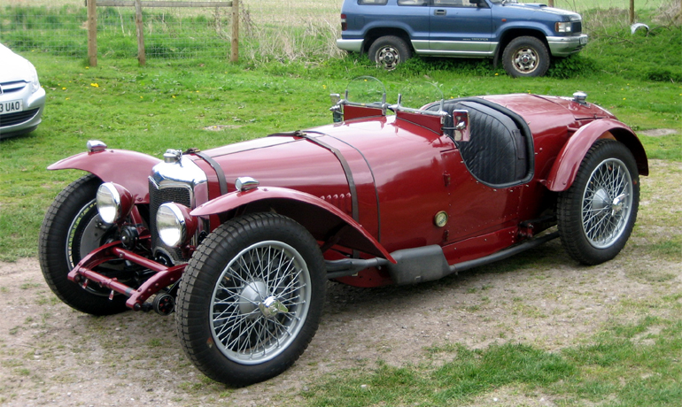 1930 Riley Brooklands #8076