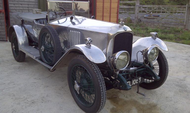 Vauxhall 30-98 Velox, 1924.