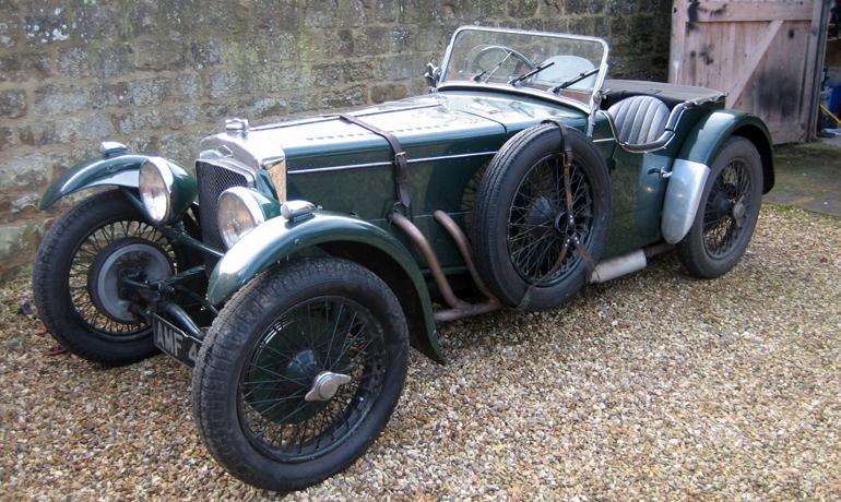 Frazer Nash TT Rep, 1933.