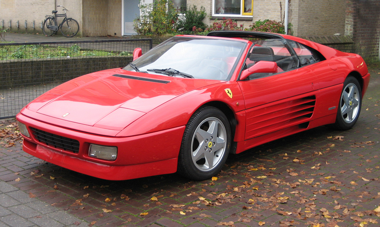 Ferrari 348 TS, 1991.