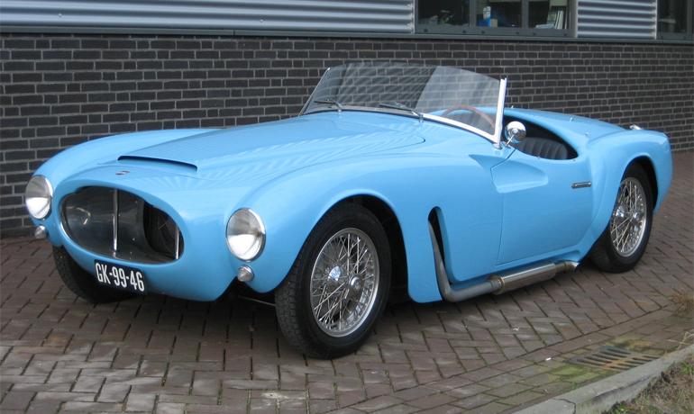Moretti 1200 Sport Spider, #5007.