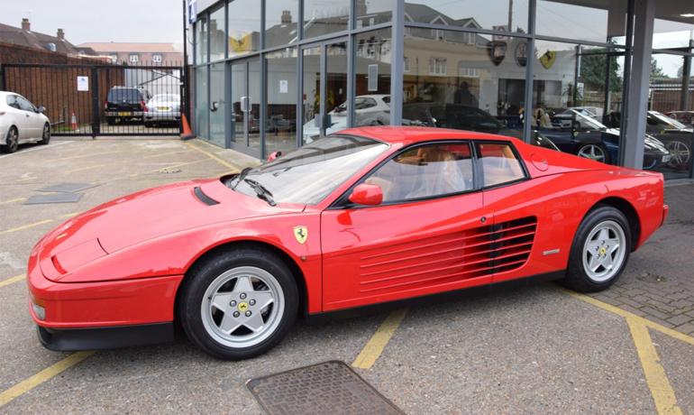 Ferrari Testarossa, 1989.