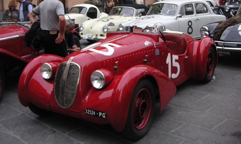 Fiat 508C Spider MM, 1937.