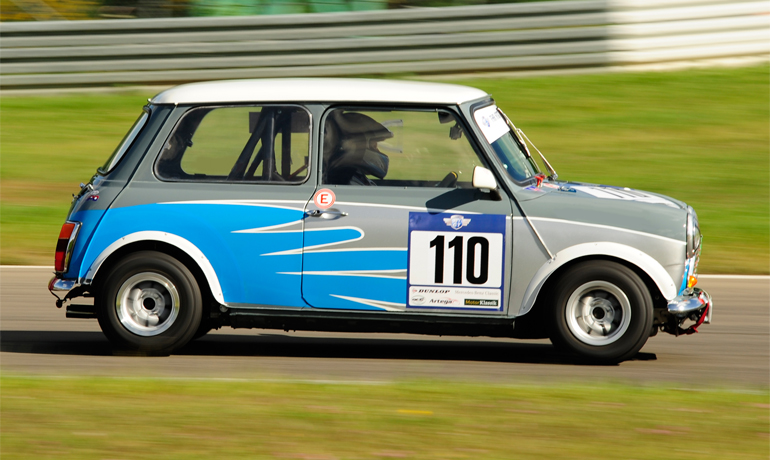 Austin Mini Cooper S Racing, 1971.