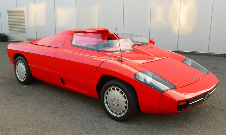 Isdera Spyder 036i, 1989.