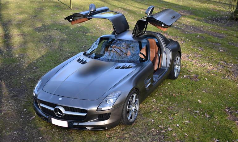 Mercedes SLS AMG, 2010.