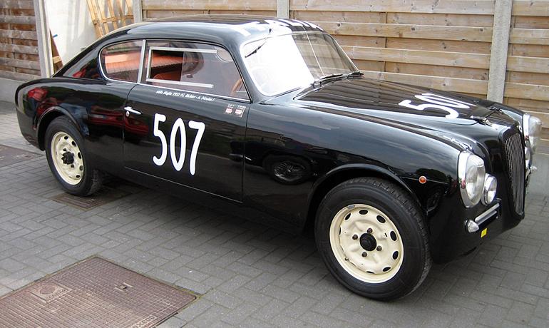 Lancia B20 MM Coupe, 1952.