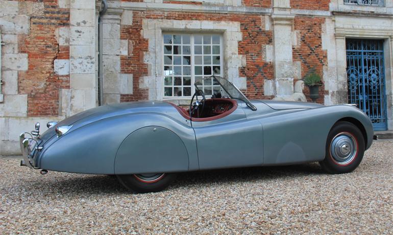 Jaguar XK120 OTS, 1950.