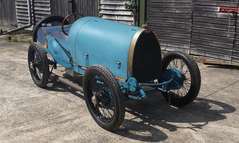 Bugatti 13 Brescia Course #2365