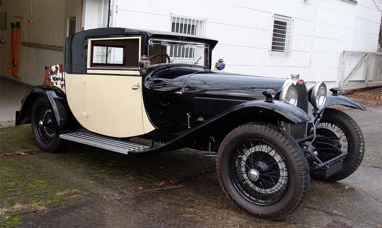 Bugatti 38 Fiacre, 1927. #38428