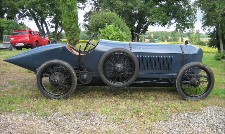 Benz Aero 18 litre, 1915