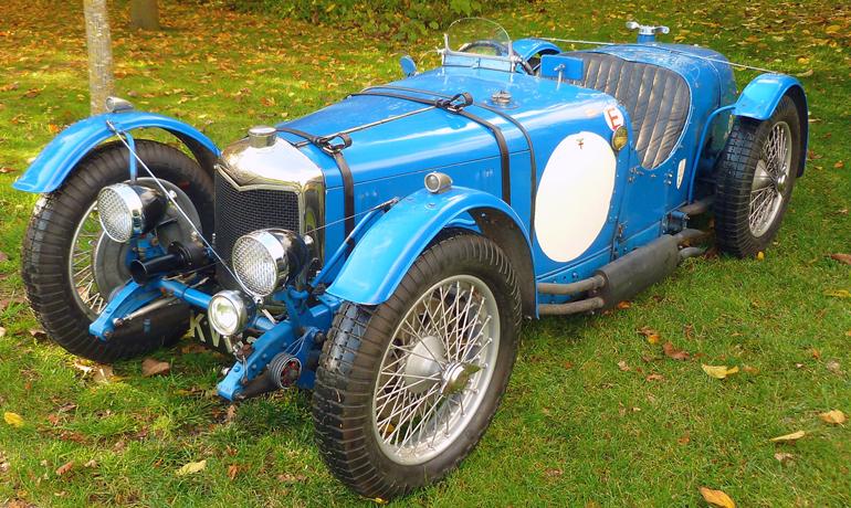 Riley 9 Brooklands LM, 1932.