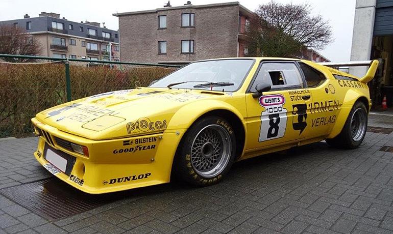 BMW M1 Pro-car, 1979. Ex Cassani.