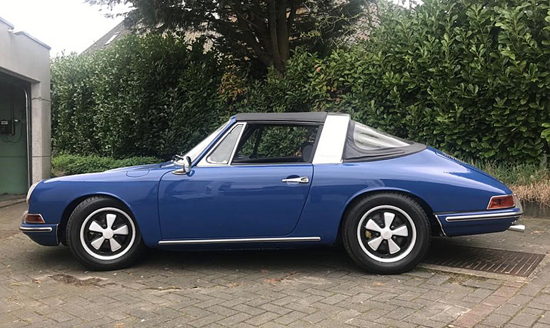 Porsche 912 Soft Window Targa, 1968.